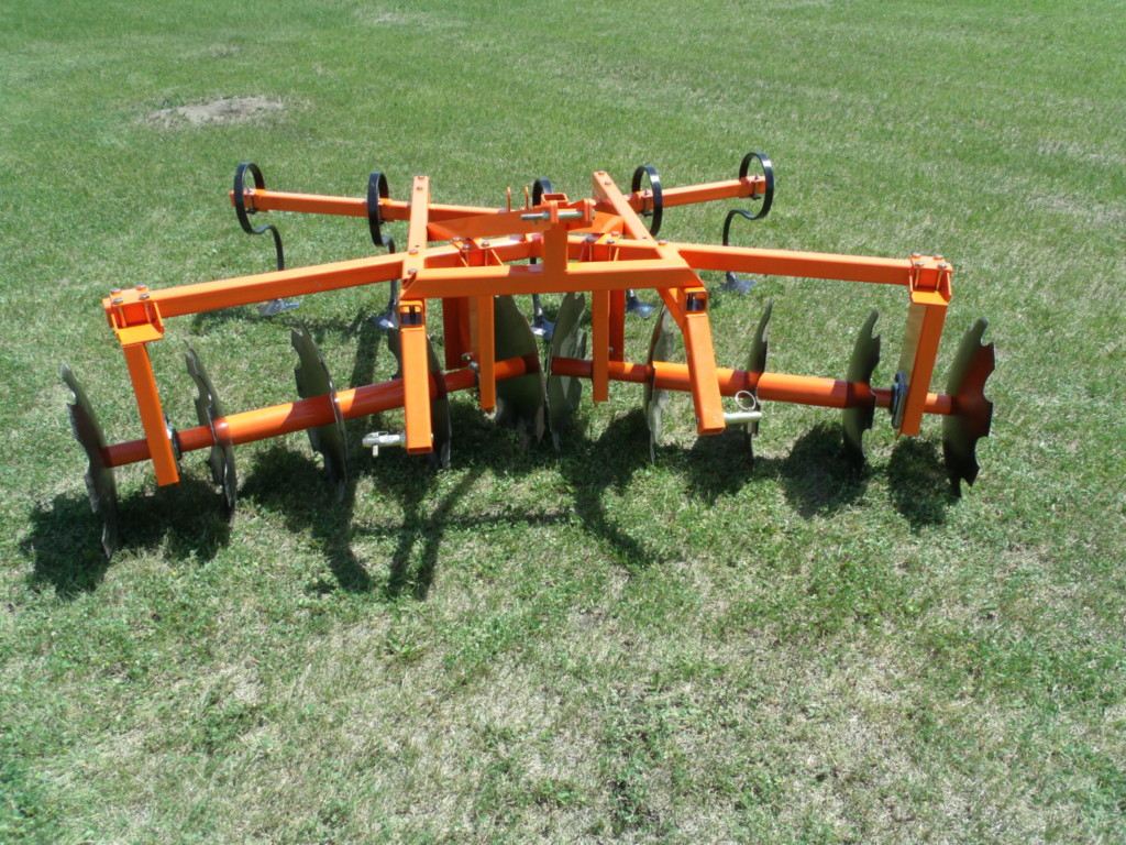 3 Point Tractor : Point tandem digger disc combo for your compact tractor